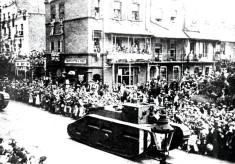 Sloane Street 1919: the peace parade