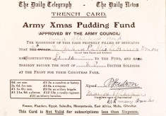 Christmas Pudding Fund