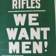 The London Irish Rifles' Bold Recruitment Strategy