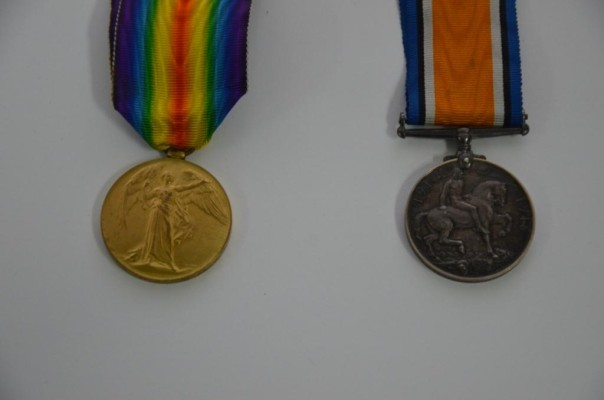 George Barnard's Medals | Audrey Jones