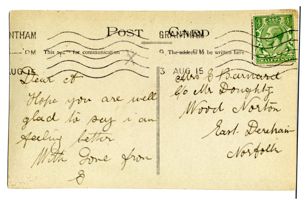 George Barnard's postcard  | Audrey Jones