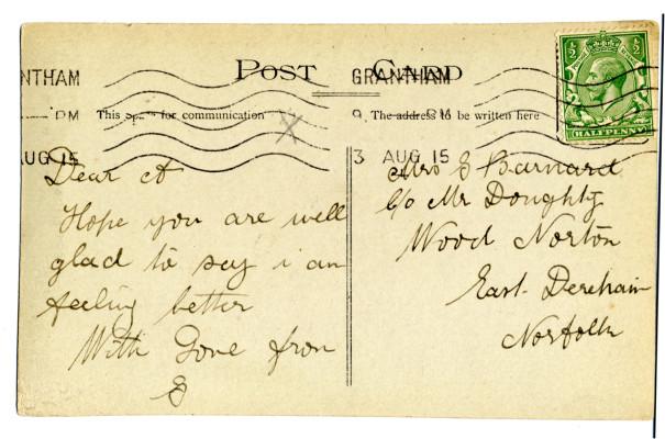 George Barnard's postcard  | Audrey Jones