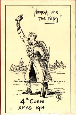 'Hoorah for the King' | Broughshane scrapbooks, vol 3 p. 21