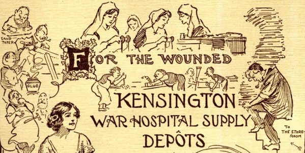 Kensington War Hospital Supply Depot Summer Fair Programme | Local Studies, RBKC