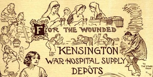 Kensington War Hospital Supply Depot Summer Fair Programme | Local Studies, RBKC