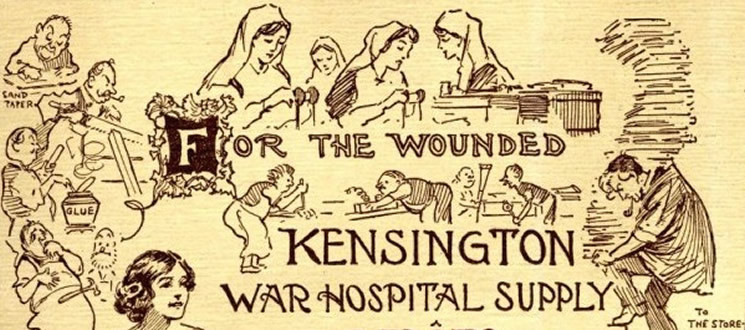 Kensington War Hospital Supply Depot Summer Fair Programme