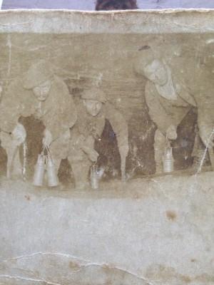 Albert William Hodgkins in the mines   James Hodgkins