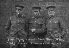 Life Guards Wounded at Ypres