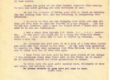Davison to Barnett-Barker 27th March 1917