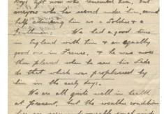 Brown, Maloney, Squibb to Davison 30th July 1918