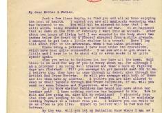 Brown to Parents 1st April 1917