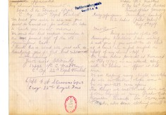 Madden to Davison 5th August 1917
