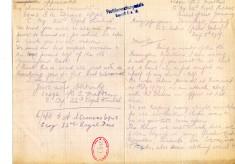 Madden to Davison 5th August 1917