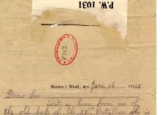 Fahey to Davison 16th June 1918