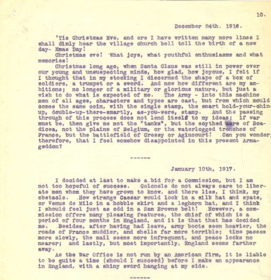 Destrube to Marion - 24th December 1916 and 10th January 1917 | RBKC Local Studies