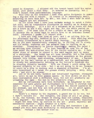 Destrube to Marion 28th Jan and Feb 1916 - part two | RBKC Local Studies