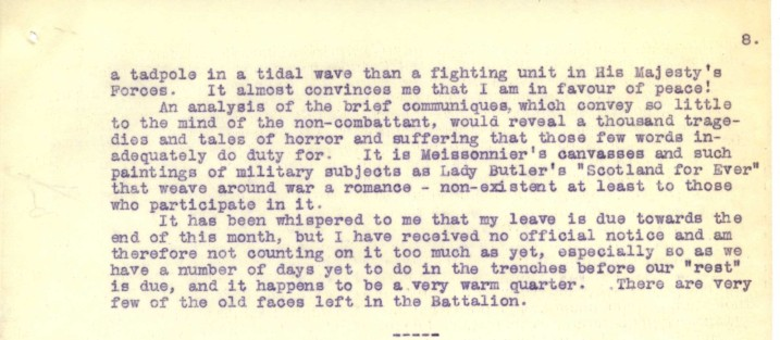 Destrube to Marion 8th June 1916 - part two | RBKC Local Studies