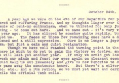Destrube to Marion 24th October 1916