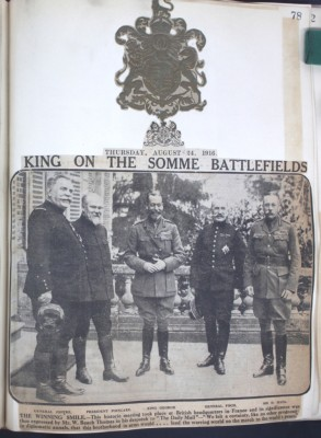 The King at The Somme | RBKC