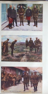 Postcards of the King's visit | RBKC